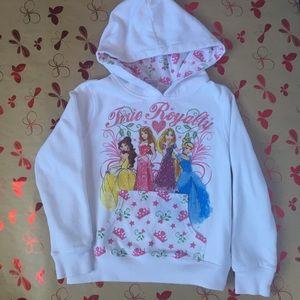 """Disney Princess """"True Royalty"""" Hooded Sweatshirt"""